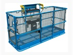 The Genie Lift Guard Platform Mesh full assessory will be available in the second quarter of 2018, along with a half-full option and a screen. Photo courtesy of Genie