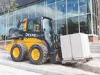 <p><em>John Deere 320G skid steer. Photo courtesy of Deere</em></p>