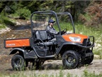 The RTV-X900 is equipped with a  21.6 hp diesel engine, standard 4WD, and standard hydraulic power steering.