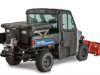 <p><em>Pictured is the spreader with on the Brutus HDPTO. Photo courtesy of Polaris.</em></p>