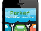 Parker displays open on-street parking in real time, as well as available parking at garages and nearby parking lots