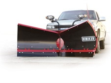 The new VF series flare-wing trip-edge V-plow from Hiniker.